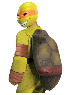 Teenage Mutant Ninja Turtles Michaelangelo Deluxe Boys Costume