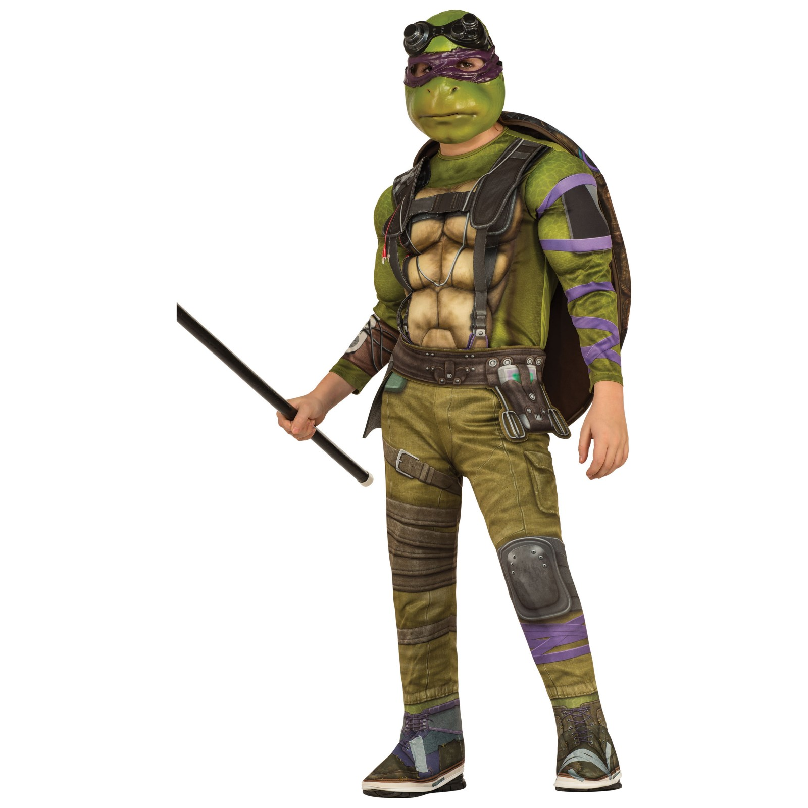 Teenage Mutant Ninja Turtles Movie Deluxe Donatello Costume R630257-M