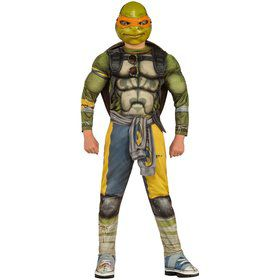Teenage Mutant Ninja Turtles Movie Deluxe Michelangelo Costume