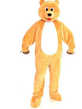 Teenagers Bear Mascot Costume