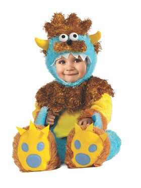 Teeny Meanie Monster Costume for Infants