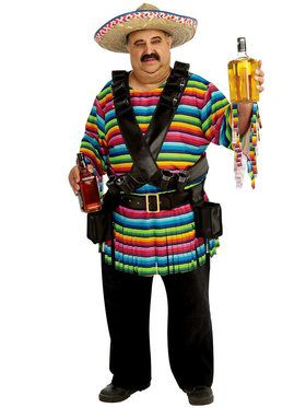 Tequila Sunrise Mens Costume
