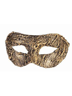 Textured Half Mask Adult Gold