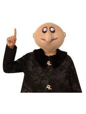 Kid's The Addams Family Uncle Fester 1/2 Mask