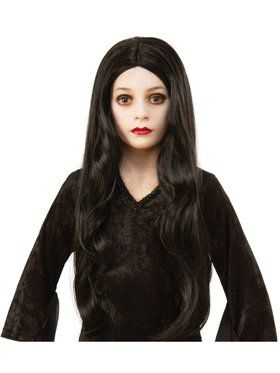 The Addams Family Kid's Morticia Wig Accessory