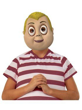 Kid's The Addams Family Pugsley 1/2 Mask