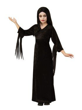 Addams Family Morticia Costume for Kids