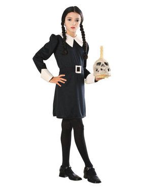 The Addams Family Wednesday Child Costume Small