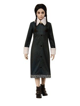 Addams Family Wednesday Costume for Kids