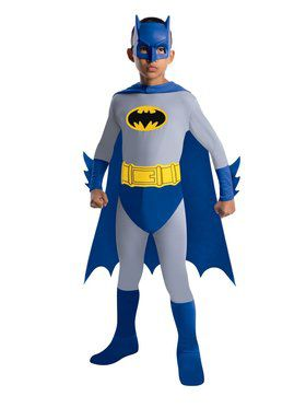 The Brave and the Bold Child Batman Costume