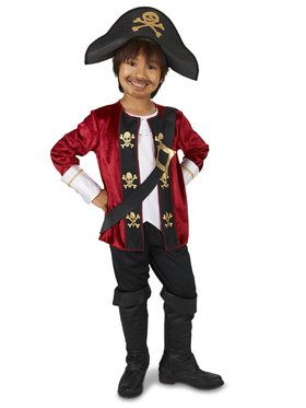 The Captain Pirate Child Costume