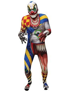 The Clown Morph Suit Adult Costume