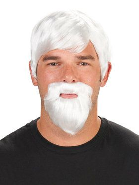 The Colonel Wig and Beard For Adults