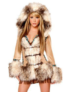 The Eskimo Deluxe Hooded Coat Adult