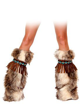 The Eskimo Fringe Legwarmers Adult
