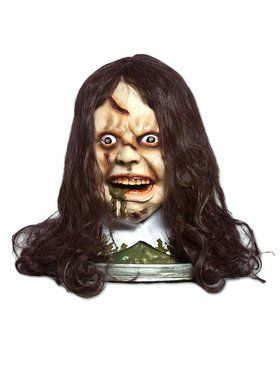 The Exorcist Head Platter 12 In Diameter