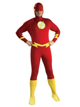 The Flash Adult Costume