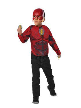 Dress-Up Costume Set - The Flash with Flip N' Reveal Lightning Bolts