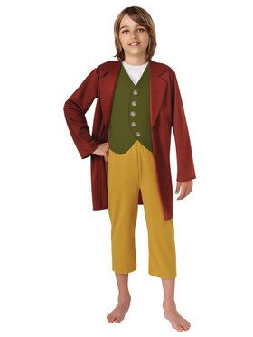 The Hobbit Bilbo Baggins Boy's Costume