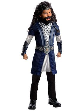 The Hobbit Deluxe Thorin Boy's Costume