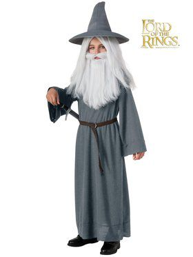 The Hobbit Gandalf Boy's Costume