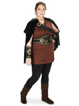 Plus Size The Huntress Costume For Adults