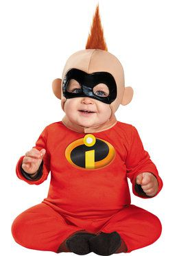 The Incredibles Baby Jack Jack Deluxe Costume Toddler