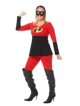 Adult The Incredibles Mrs. Incredible Tunic and Leggings Costume