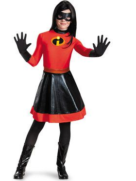 The Incredibles Violet Girlu0027s Costume  sc 1 st  Wholesale Halloween Costumes : secret wishes robin costume  - Germanpascual.Com