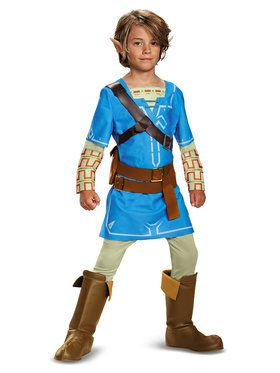 The Legend of Zelda: Link Breath Of The Wild Deluxe Child Costume