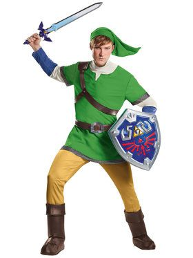 The Legend of Zelda Link Deluxe Mens Costume