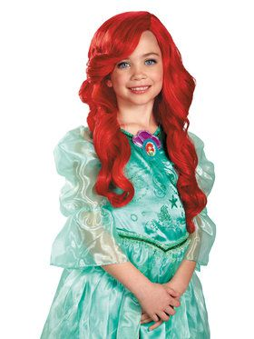 The Little Mermaid Princess Ariel Children's Wig