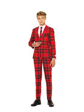 The Lumberjack Teen Boys Opposuit for Halloween