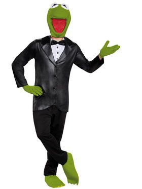 The Muppet's Kermit Deluxe Men's Costume