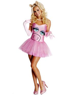 The Muppets Miss Piggy Sexy Adult Costume