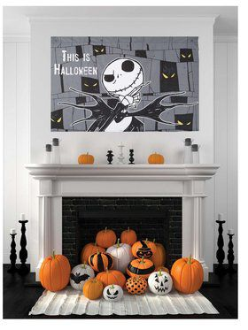 Jack Skellington This is Halloween Wall Hang