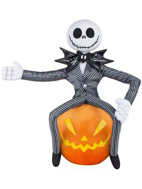 The Nightmare Before Christmas Pumpkin King Decoration