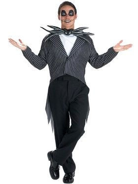 The Nightmare Before Christmas Jack Skellington Costume For Teens