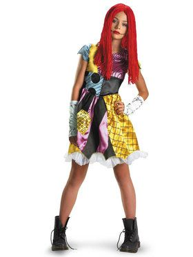 The Nightmare Before Christmas Sally Tween Costume For Children