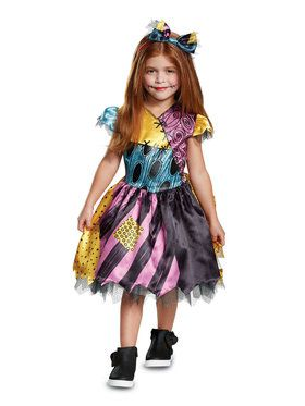 Classic The Nightmare Before Christmas Sally Costume For Toddlers