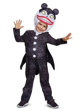 Classic The Nightmare Before Christmas Scary Teddy Costume For Children