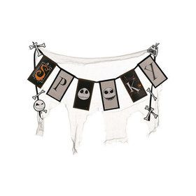 The Nightmare Before Christmas Spooky Cheesecloth Banner 36