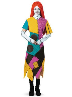 The Nightmare Before Christmas Sally Costume For Adults