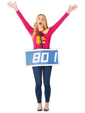 The Price Is Right Adult Blue Contestant Costume