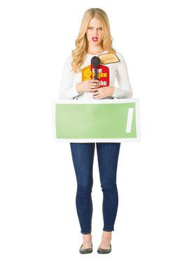 The Price Is Right Adult Green Contestant Costume