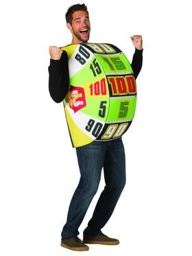 The Price is Right Adult Big Wheel Costume