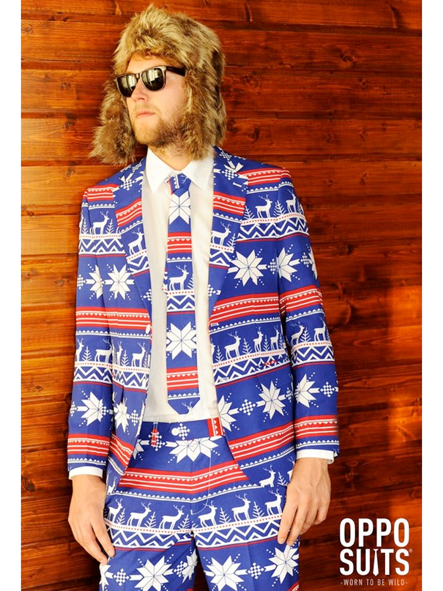 Adult The Rudolph Opposuit Costume
