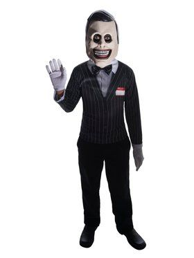 Kid's Spooky Salesman Costume
