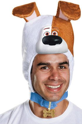 The Secret Life of Pets Adult Max Headpiece