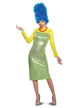 Marge Simpson Deluxe Costume for Adults